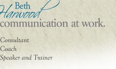 training and consulting, flexible communicator